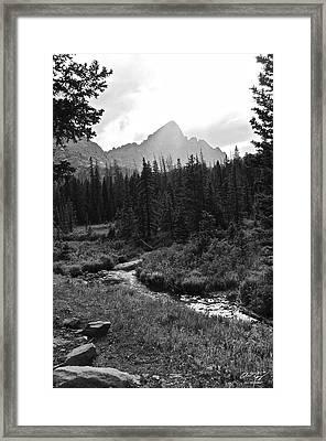 Crestone Light Framed Print