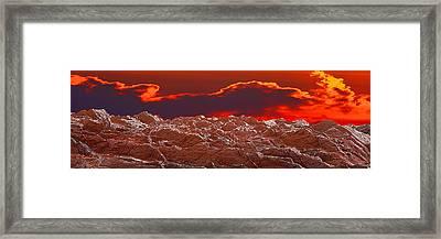 Crete Highlands Framed Print by George Rossidis