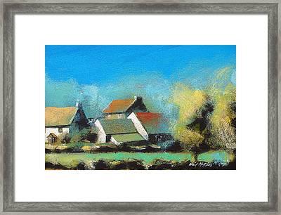 Crich Farm Framed Print by Neil McBride