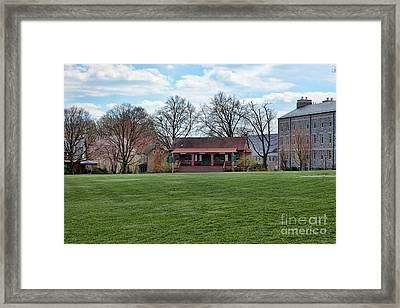 Cricket Field Haverford College Framed Print