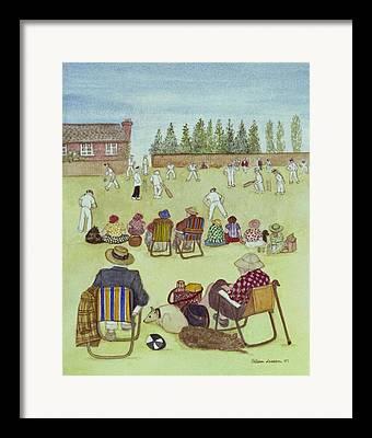 British Cricket Framed Prints