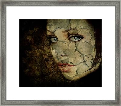 Cried For No One Framed Print by Marie  Gale
