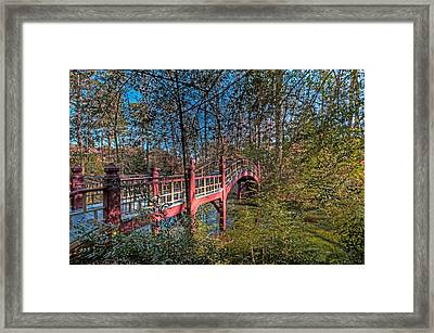 Framed Print featuring the photograph Crim Dell Bridge by Jerry Gammon
