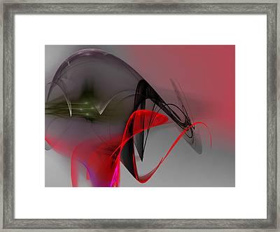 Crime In The Making Framed Print