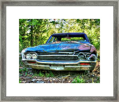 Crime Scene Framed Print by Danny Pickens