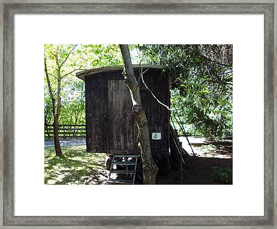 Crime Scene In The Woods Two Framed Print by Sir Josef - Social Critic -  Maha Art