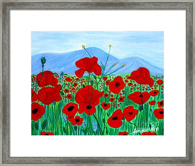 Framed Print featuring the painting Crimea 2007. Soul Collection by Oksana Semenchenko