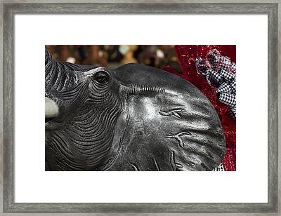 Crimson Tide For Christmas Framed Print