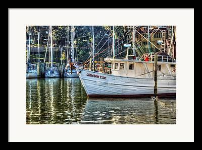 Driftboat Framed Prints