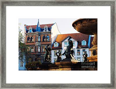 Framed Print featuring the photograph Crinaeae Kinder  by Cassandra Buckley