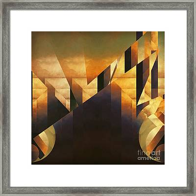 Crippled Emotion Framed Print by Lonnie Christopher