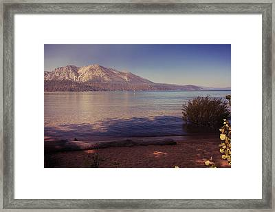 Crisp And Clear Framed Print by Laurie Search