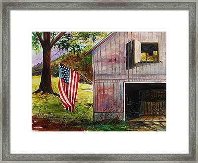 Crisp Colors Framed Print by John Williams