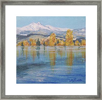 Crisp Morning Framed Print