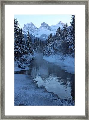 Framed Print featuring the photograph Crisp by Ramona Johnston