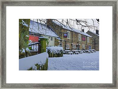 Crispin Inn At Ashover Framed Print by David Birchall
