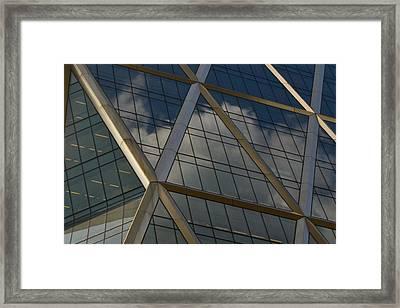 Criss-cross Framed Print