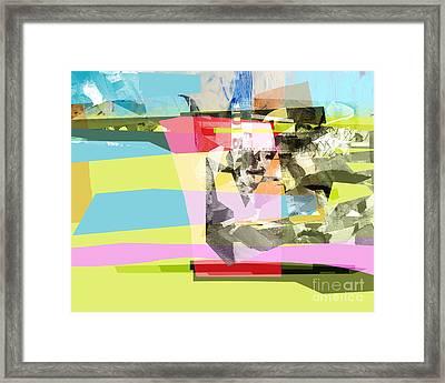 Cristal D'ete Framed Print