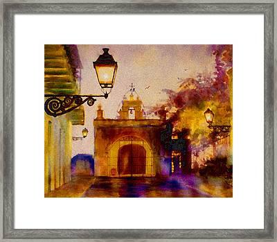 Cristo Chapel San Juan Framed Print