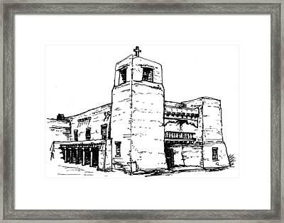 Cristo Rey Church Framed Print