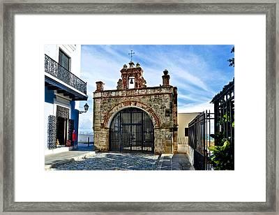 Framed Print featuring the photograph Cristo St. Chapel by Ricardo J Ruiz de Porras