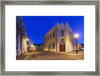Criterion Hotel Oamaru New Zealand Framed Print by Colin and Linda McKie