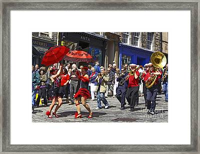 Criterion New Orleans Parade Band Framed Print by Craig B