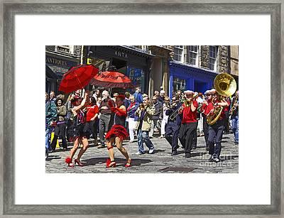 Criterion New Orleans Parade Band Framed Print