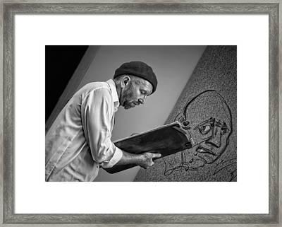 Critical Eye Framed Print