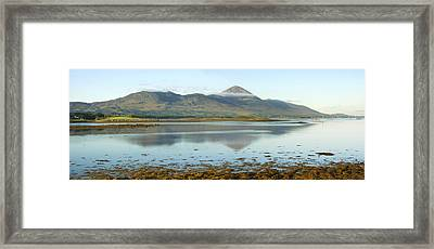 Croagh Patrick Ireland's Holy Mountain Framed Print by Jane McIlroy