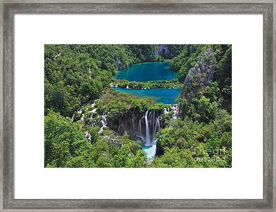Croatia Landscape Framed Print by Boon Mee