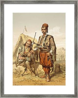 Croatian Guards, 1865 Framed Print