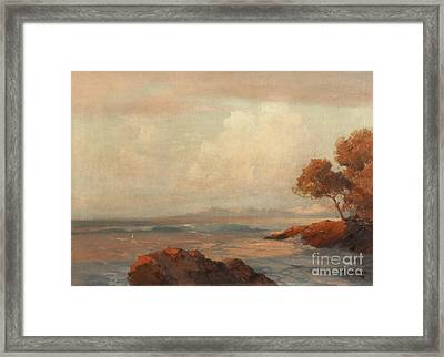 Croatian Sea Framed Print by Celestial Images