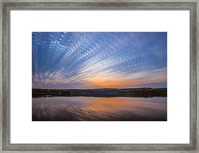 Crochet The Sky Framed Print