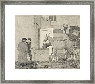 Crocks Framed Print by Robert Polhill Bevan