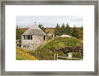 Croft Powered By Wind Framed Print by Ashley Cooper
