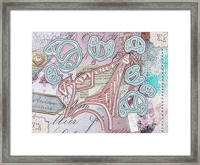 Croissant Framed Print by Mo T