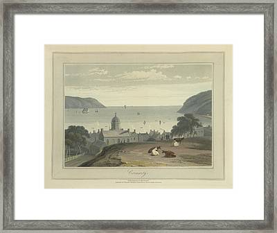 Cromarty Town And Harbour Framed Print by British Library