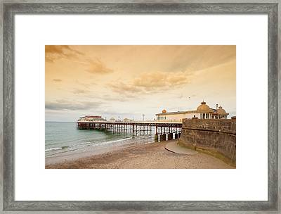 Cromer Pier Framed Print by Shirley Mitchell