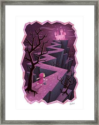 Crooked Framed Print by David Fedan