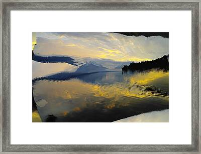 Crooked Frame Framed Print by Jeff Swan