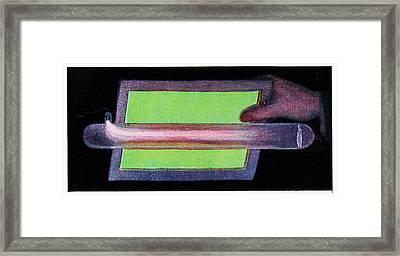 Crookes Tube Framed Print