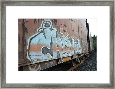Crooks Framed Print by Sheldon Blackwell