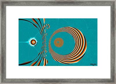 Crop Circles Framed Print