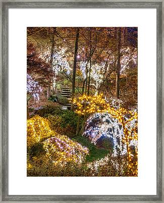 Golden Valley - Crop Framed Print