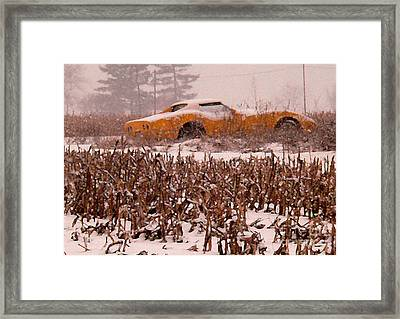 Crop Rotation--vets This Year Framed Print by David Bearden
