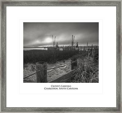 Crosby Landing Framed Print