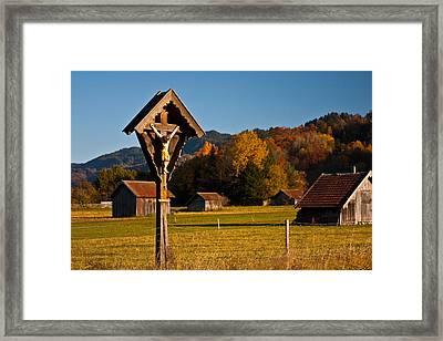 Cross 1 Framed Print