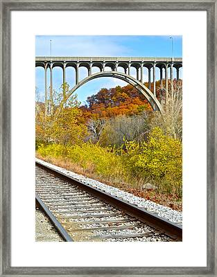 Cross Country Framed Print by Frozen in Time Fine Art Photography
