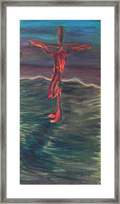 Cross Impression 1 Framed Print
